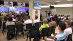 """гости и участники прямого эфира в студии """"ТБН-Израиль"""""""