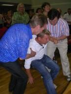 Марк Якобсон на церковном служении в состоянии алкогольного опъянения (фото 2010 года)