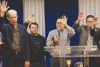 """Служители церкви """"Маранафа"""" посетили общину """"Царь Великой Славы"""" (ФОТО, ВИДЕО)"""