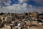 Вид на Иерусалим с колокольни церкви